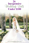 26 Inexpensive Dream Veils under $100