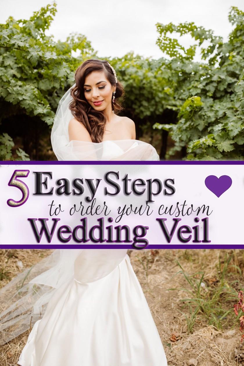 Order Your Custom Wedding Veil with BlancaVeils.com
