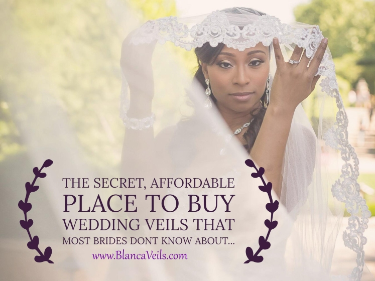 The secret place to buy wedding veils, www.blancaveils.com