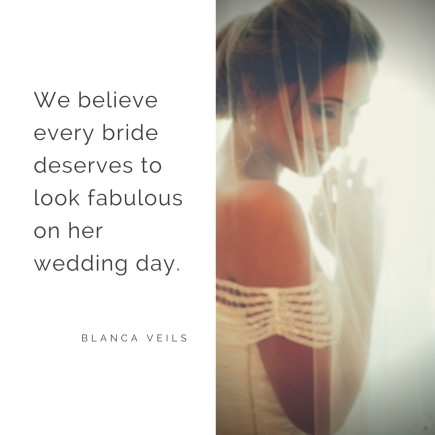 Every bride deserves her dream veil!
